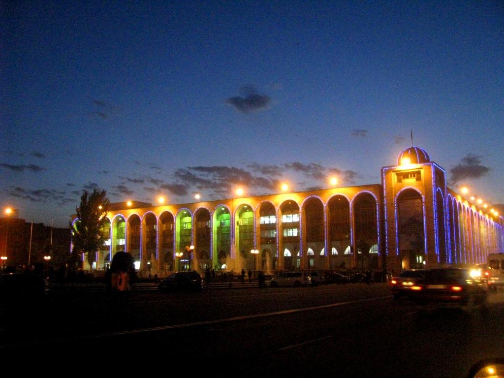 Bishkek, Kyrgyzstan, October 2012
