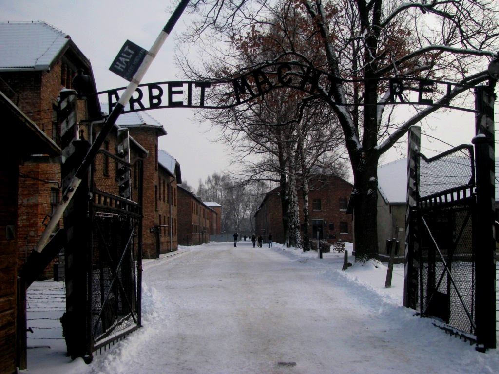Auschwitz concentration camp, Poland, January 2013