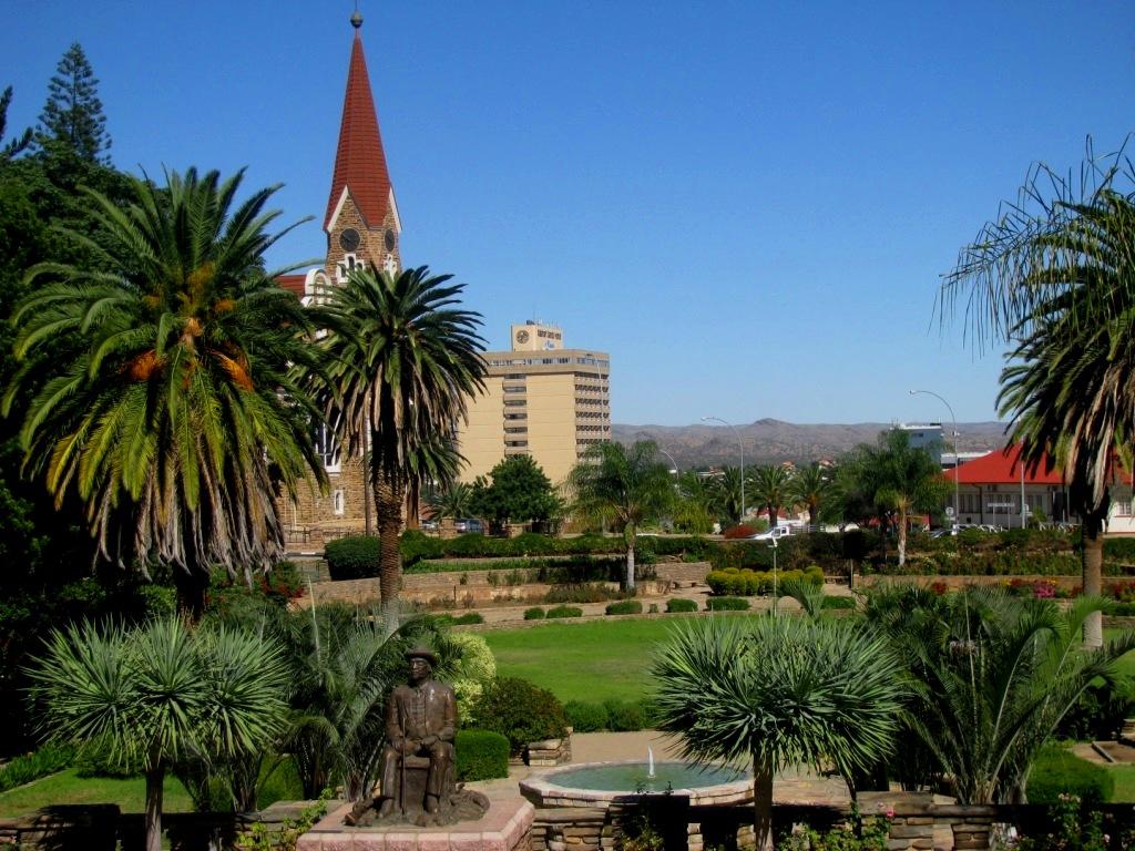 Windhoek, Namibia, April 2013