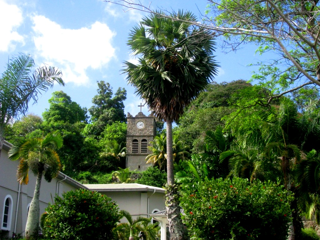 Victoria, Seychelles, October 2014