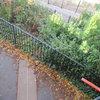 Линията на меридиана извън оградата