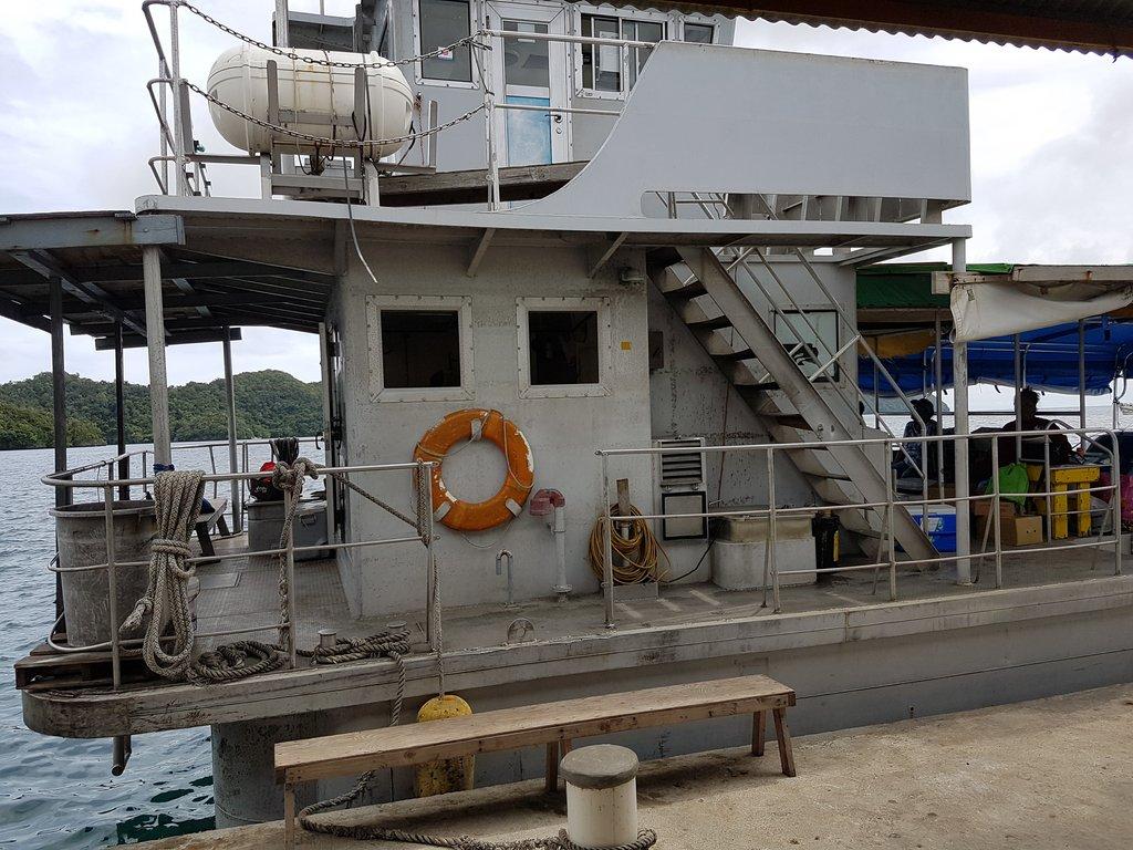 Peleliu ferry