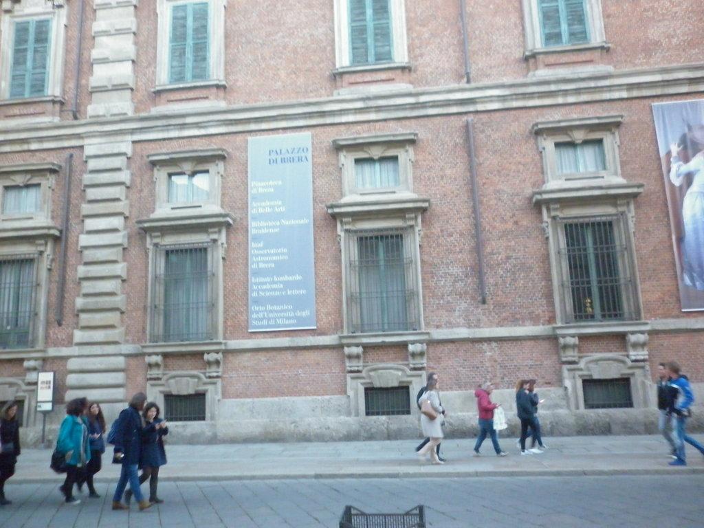 Галерията Брера в Милано
