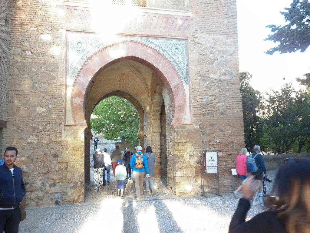 АЛХАМБРА, символът на Гранада, Испания