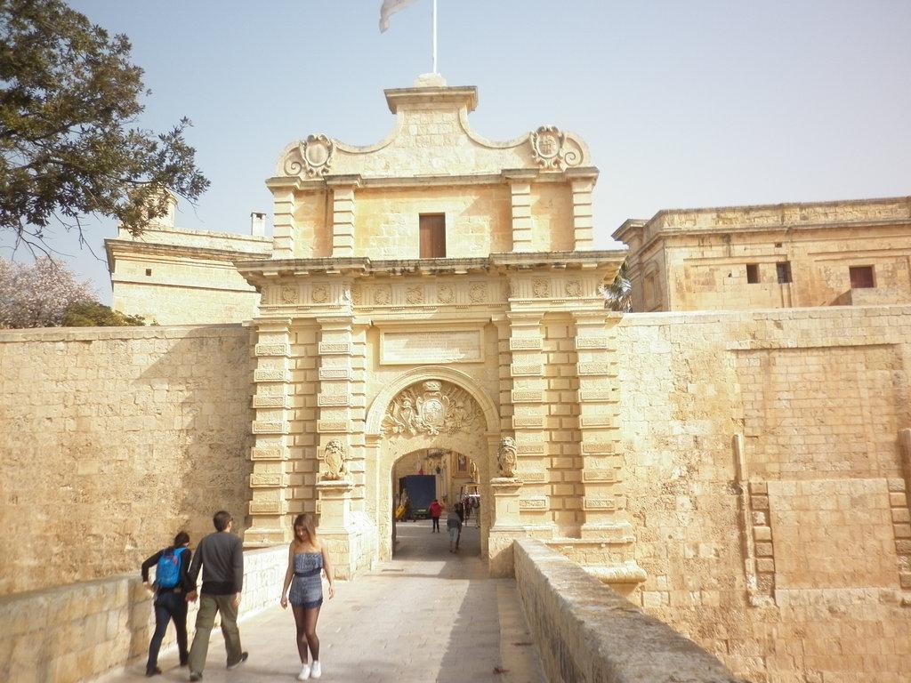 Мдина, средновековната столица на Малта.