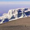 Част от последните ледници на планината Килиманджаро