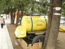 Цистерна с квас, но...продаваха бира:)