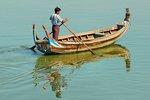 Taung Tha Man Lake, Amarapura, Mandalay region, Myanmar.