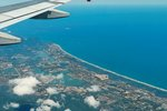 Aerial view of Rio de Janeiro, Brazil.