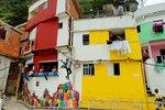 Favela Santa Marta, Rio de Janeiro, Brazil.