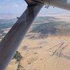 Descend towards Ol Seki airstrip, Naboisho Conservancy, Kenya