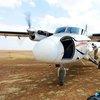 AirKenya DHC-6 at Ol Seki airstrip, Naboisho Conservancy, Masai Mara Ecosystem
