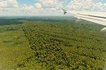 Landing at Cataratas International Airport (IGR), Puerto Iguazu.