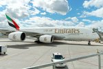 Emirates A380 at Pearson International (YYZ), Toronto, ON
