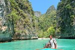 "Thai ""Gondolier"", Phi Phi Islands, Thailand"