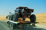 Desert Dragster (see Tal Mireb Dune photo). Rub' al Khali, UAE