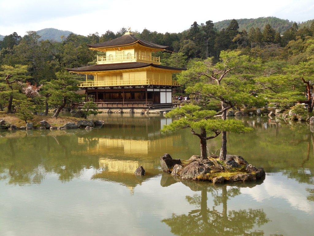 Златният павилион в Киото,  Япония