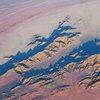 Namib Desert aerial image, Namibia.