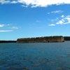 Крепост в морето до Шибеник