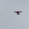 Самолетче, снимано от моста Oberbaumbrücke