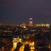 Tour Montparnasse, изглед от Arc de Triomphe