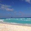 На плажа в Канкун