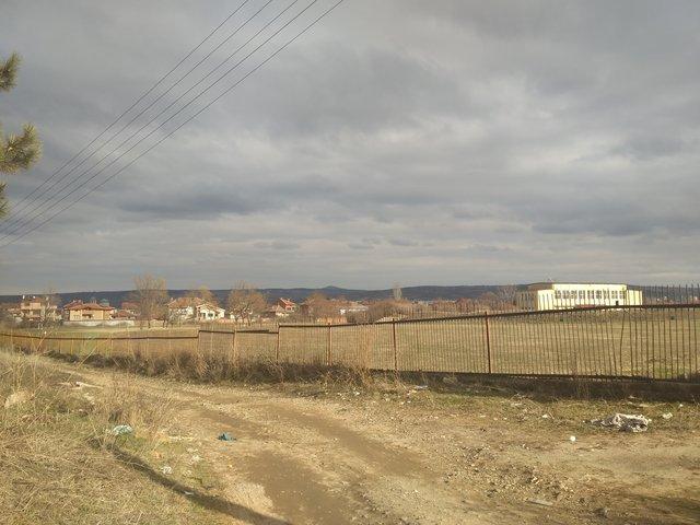 Харманли- стадиона на който е играл Стоичков като войник.Декември 2016