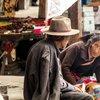 На пазара в Shigatse