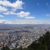 Богота, гледана от Монсерате (3170м над морското равнище)