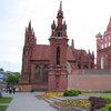 """Църквата """"Св. Ана"""" във Вилнюс"""
