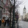 В центъра на Вилнюс