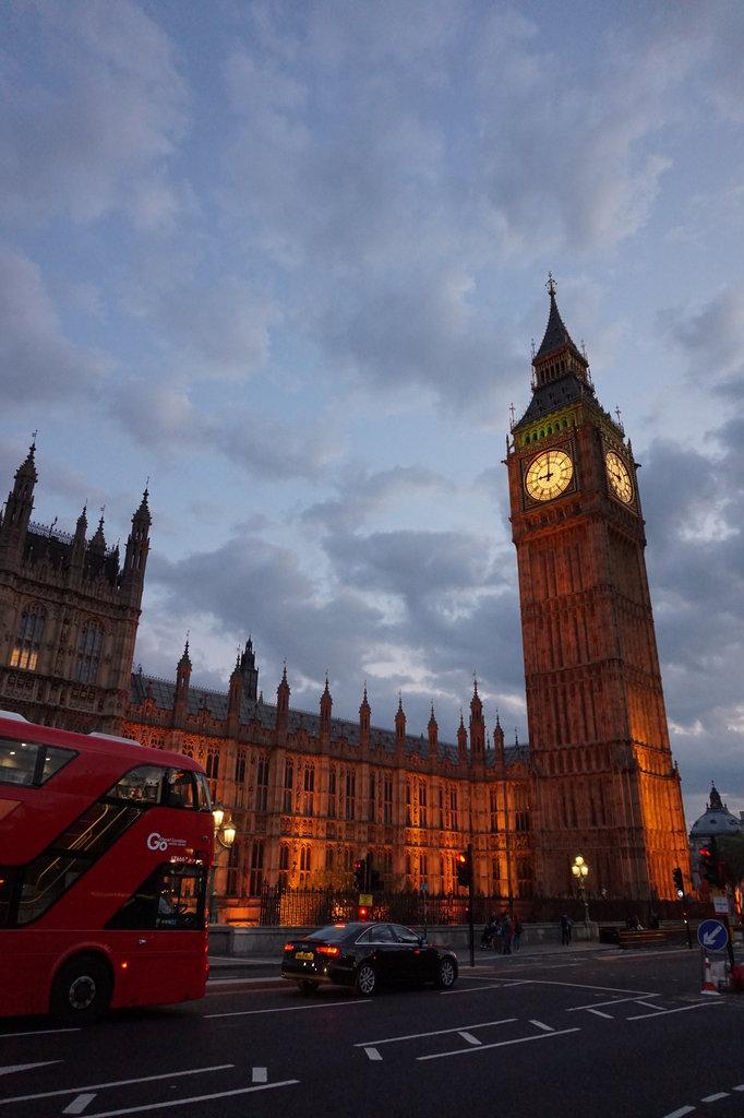Пет слънчеви дни в Лондон