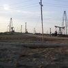 Oil fields near Baku