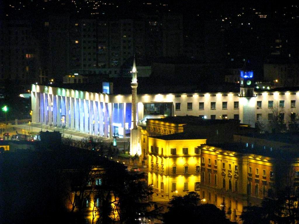 Tirana, Albania, January 2008