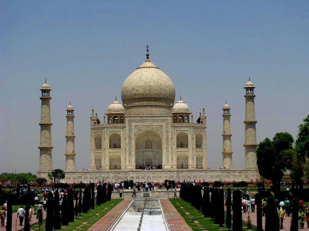 Agra, India, April 2009