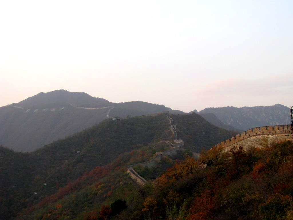 Mutianyu, China, October 2009