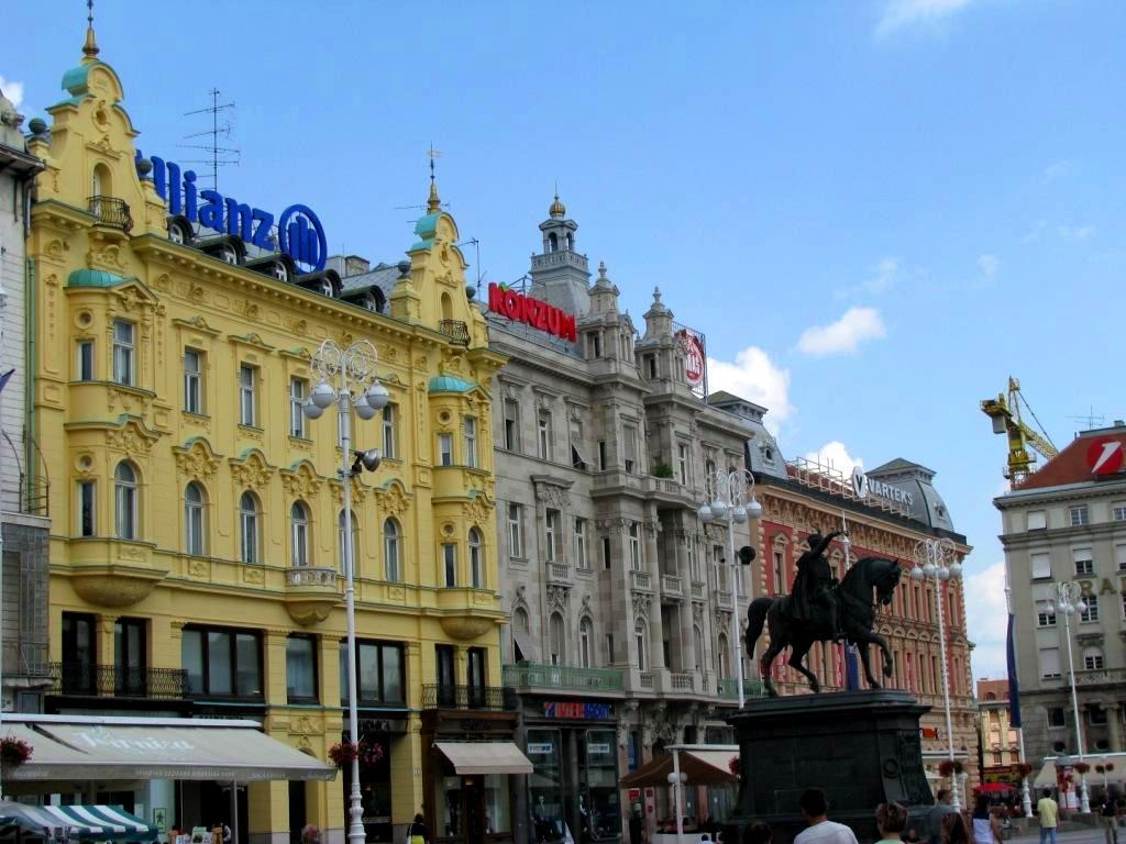 Zagreb, Croatia, August 2010