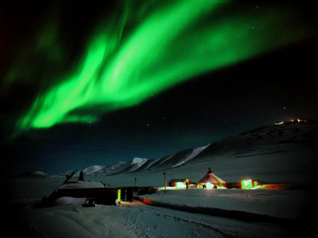 Longyearbyen, Svalbard, January 2011