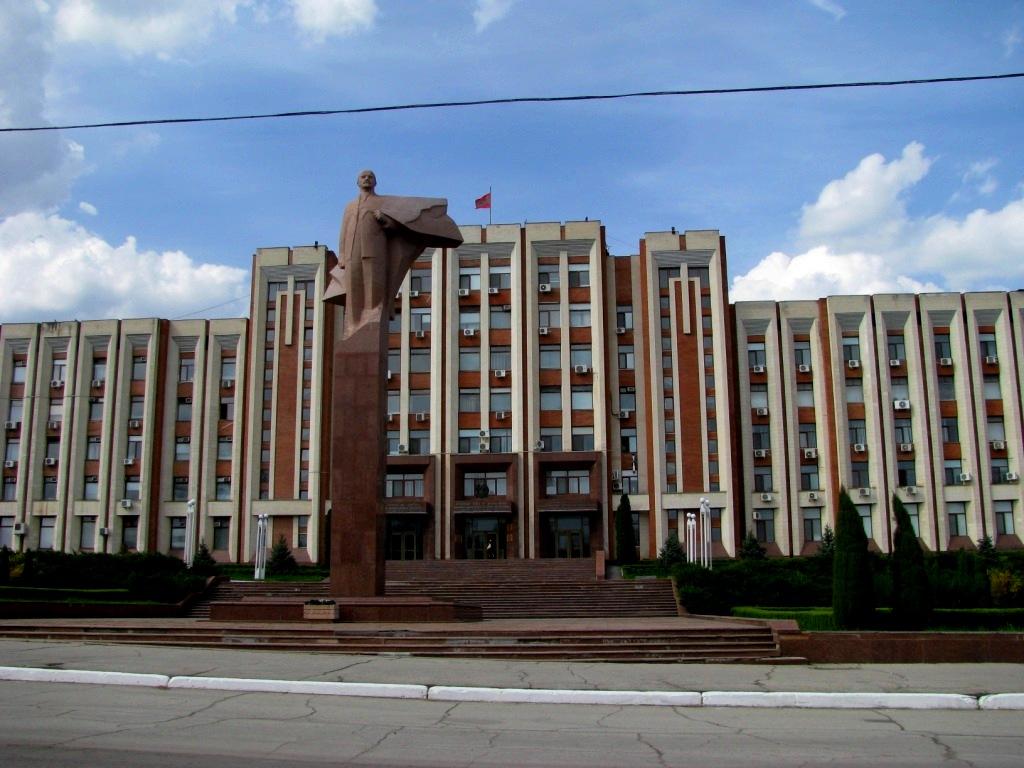 Tiraspol, Moldova, April 2011