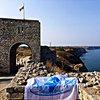Калиакра - портата на крепостната стена, нос Калиакра, България