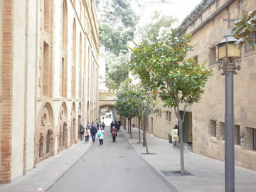 Манастирът Монтсеррат, на 30 км. от Барселона