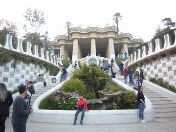 Паркът Гуел, Барселона.