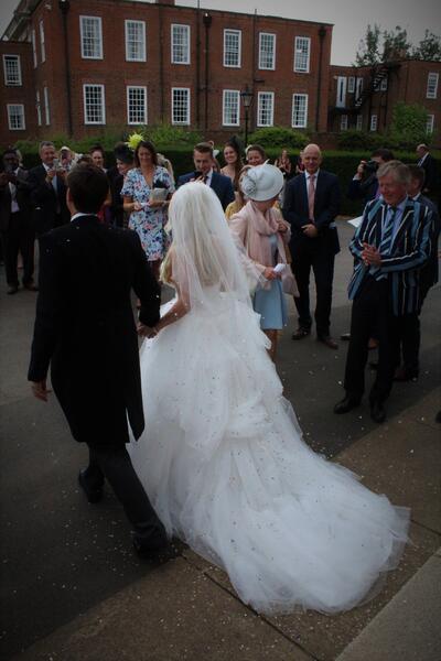 булката и младоженеца