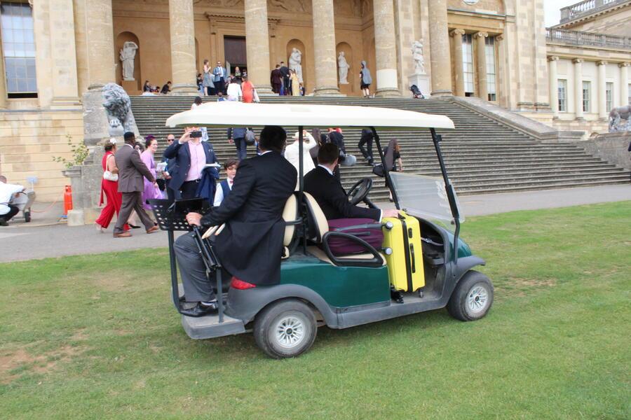 количка за голф в Лондон