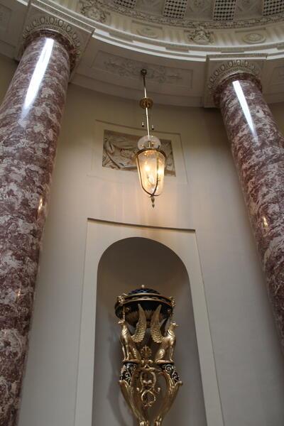 орнаменти в залата за сватбата